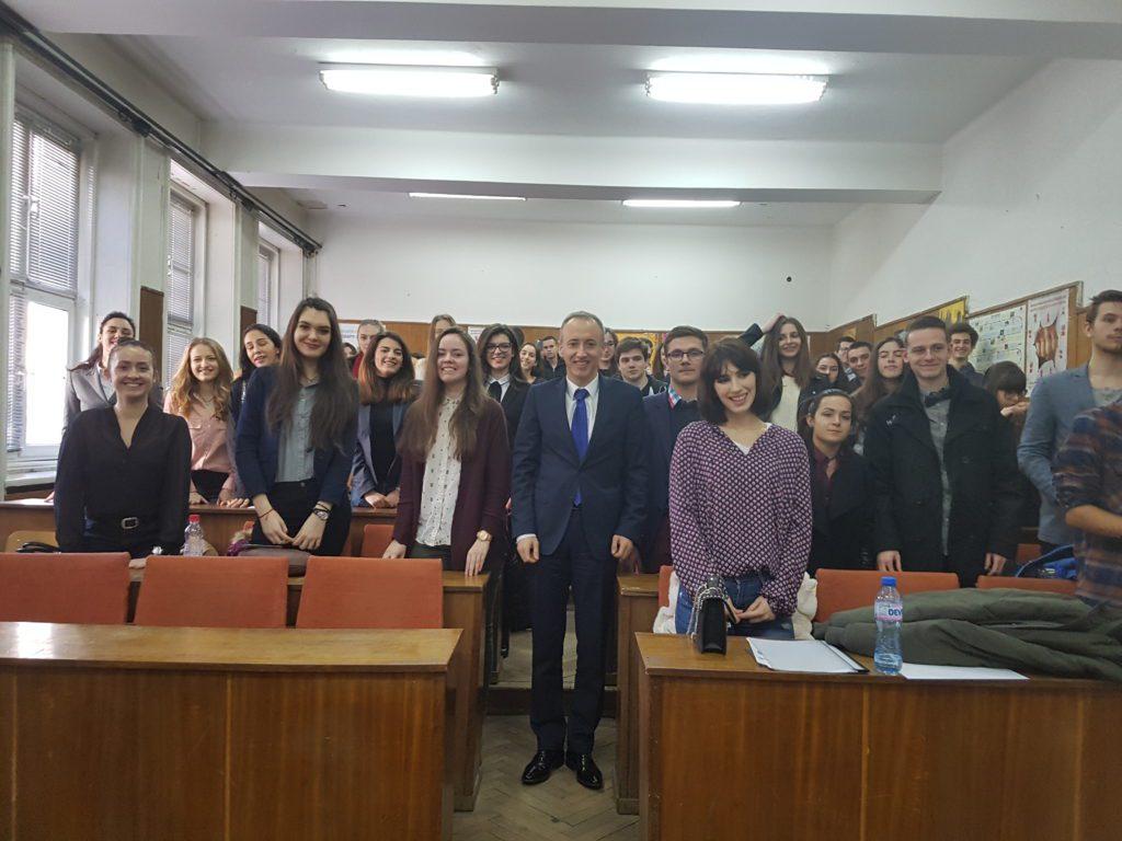 Среща с г-н Красимир Вълчев – министър на образованието и науката