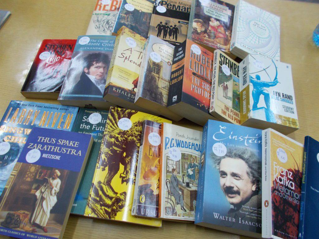 Нови книги в училищната библиотека