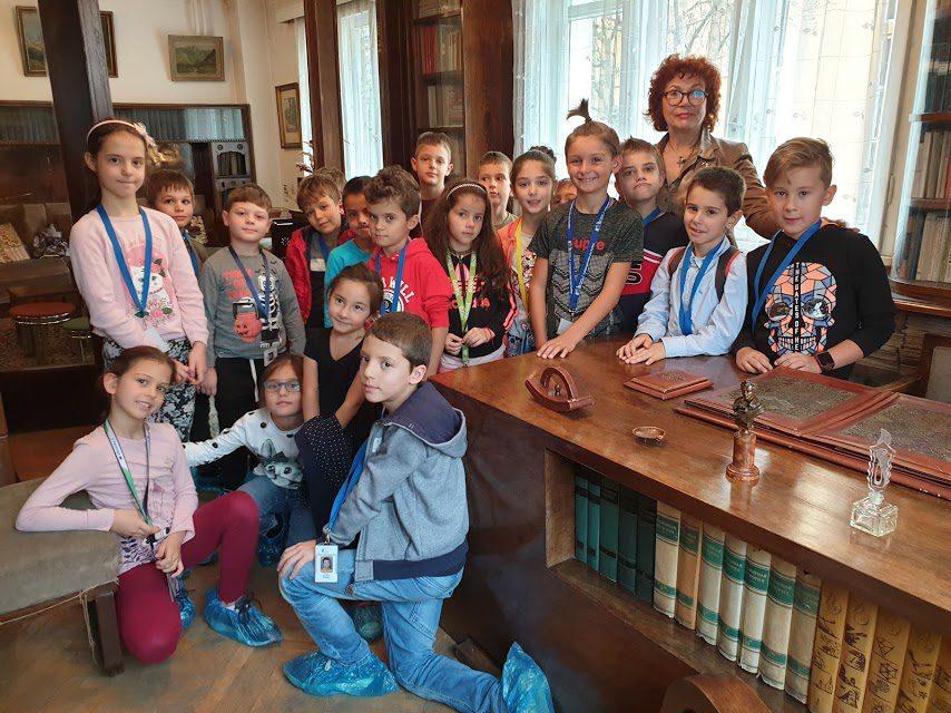 Посещение на Дом на детската книга с музей Ангел Каралийчев