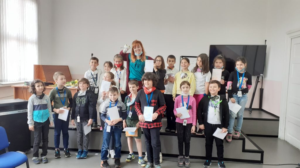 Библиотеките като образователна среда – Здрава Каменова гостува в 7. СУ